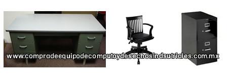 Compra de equipo de computo desechos electronicos for Muebles oficina usados